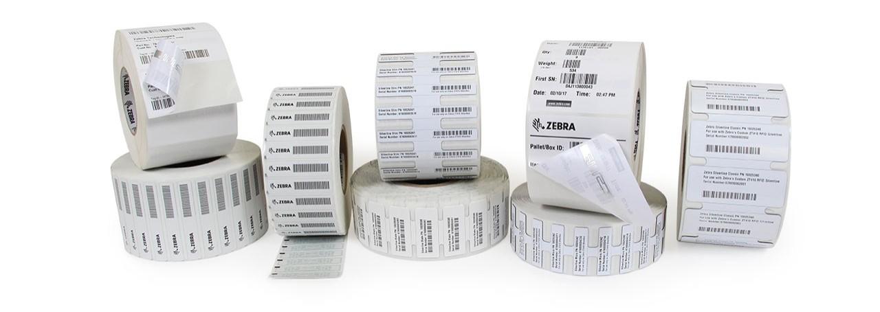 Etiquetas Zebra
