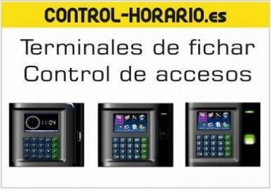 Terminales de fichaje laboral, relojes de tarjeta, relojes biométricos, terminales de control de acc