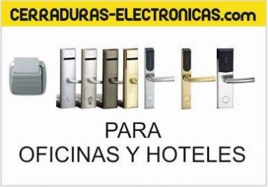 Cerraduras electrónicas para hoteles y oficinas