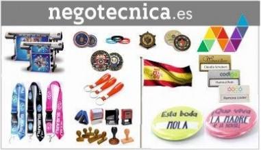 Chapas, Pulseras, pins, medallas, fabrica de banderas